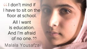 A STEP TOWARDS PEACE The Nobel Peace Prize 2014 Malala Yousafzai #2