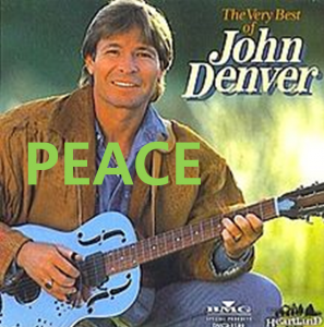 A STEP TOWARDS PEACE John Denver 'The Peace Poem Last Night I Had The Strangest Dream'