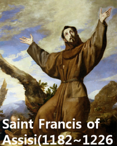 "A STEP TOWARDS PEACE Saint Francis of Assisi ""Peace Prayer"" Saint Francis of Assisi Peace prayer Peace leprosy"