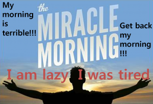 A STEP TOWARDS PEACE Miracle Morning : If You Change Evening, A Miracle Happened In the Morning