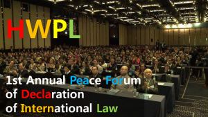 A STEP TOWARDS PEACE IWPG : Representing 3.6 billion women IWPG international law DPCW Chairman Man Hee Lee 3rd WARP Summit 2017