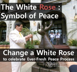 A STEP TOWARDS PEACE Guatemala National Palace : Man Hee Lee laid White Rose on Palm of Peace World Peace White Rose The Palm of Peace Restoration of Light Peace Muslim Mindanao MILF Man Hee Lee Juan Manuel Santos IWPG IPYG International Law for Peace and Cessation of War HWPL Day HWPL Heavenly Culture Guatemala National Palace George Walker Bush Dalai Lama Catholic Ban Ki-moon Alliance of Religions