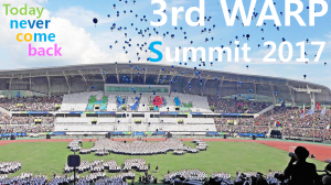 A STEP TOWARDS PEACE Today Is 3rd WARP Summit 2017!!! WE ARE ONE Together for peace as messengers of peace IWPG IPYG HWPL DPCW 3rd WARP Summit 2017