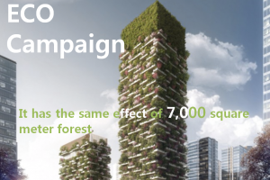 A STEP TOWARDS PEACE ECO Campaign : Restore Renew Nature's Green Vertical forest Revitalize Jane Goodall Greenery Green roof ECO Campaign ECO Dare to Be Wild Chelsea Flower Show