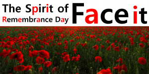 "A STEP TOWARDS PEACE The Spirit of Remembrance Day ""Face it"" We Shall Keep the Faith Remembrance Day red poppy Poppy Day November 11 Moina Michael John McCrae In Flanders Fields First World War"
