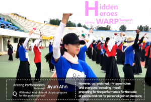 A STEP TOWARDS PEACE Behind the Staff Story of the 3rd WARP #2 volunteers Together We Make a Difference Staff Story Peace parade peace festival HWPL Hidden heroes DPCW Arirang Performance 3rd WARP