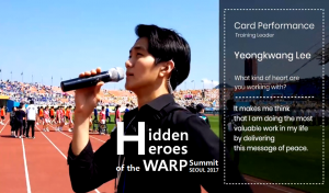 A STEP TOWARDS PEACE Behind the Staff Story of the 3rd WARP #1 volunteers Together We Make a Difference Staff Story peace festival HWPL Hidden heroes 3rd WARP