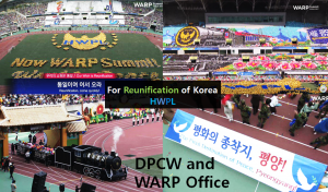A STEP TOWARDS PEACE Peace Conference of Religious Leaders for Reunification of Korea World Alliance of Religions' Peace Offices UN ECOSOC Spreading a culture of peace North Korea nuclear HWPL DPCW chief priest at Temple