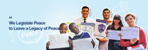 A STEP TOWARDS PEACE Global Legislate Peace Campaign in 2017 sustainable legacy Legislate Peace Campaign international law HWPL's Solutions HWPL future generations fundamental value DPCW Declaration of Peace and Cessation of War coexistence