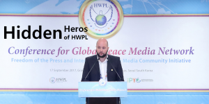 A STEP TOWARDS PEACE Key Peace Messengers of 2017 WARP Offices news of peace Mr. Bojan Stojkovski media Legislate Peace Campaign journalist Jean de Dieu Munyembabazi international law for peace HWPL