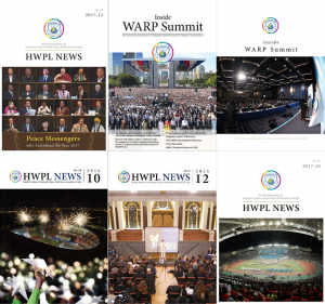 A STEP TOWARDS PEACE Review of the HWPL Newsletter violence and war the Vision of HWPL The HWPL PR Team Spreading a culture of peace peace messengers pain News of Hope international law HWPL's Newsletter HWPL DPCW authenticity Article 10 of the DPCW