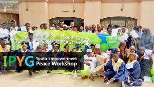 A STEP TOWARDS PEACE IPYG Youth Empowerment Peace Workshop : Fast! Youth Peace walk Nigeria Law at the University of Lagos Katsina Kano IPYG Youth Empowerment Peace Workshop IPYG Imo Hakeem Abimbola Olaniyan DPCW Babatunde Adetuniji Oni 3rd WARP Summit