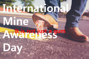 A STEP TOWARDS PEACE International Mine Awareness Day : Unexpected War UN Secretary-General Antonio Guterres Peace landmines IPYG International Mine Awareness Day HWPL DPCW António Guterres