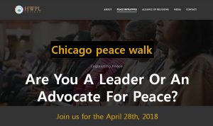 A STEP TOWARDS PEACE Chicago Peace Walk, calling for an end to gun violence Marjory Stoneman Douglas High School March for Our Lives HWPL Chicago Gun Violence Emma Gonzalez Chicago Peace Walk Calling For An End To Gun Violence Buckingham Fountain #NeverAgain #MARCHFOROURLIVES