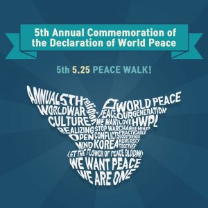 A STEP TOWARDS PEACE [D-5] 2018 the full text of Declaration of World Peace #2 TogetherForPeace IPYG HWPL HighFive full text DPCW Declaration of World Peace ANewStart #hifive #525_peacewalk