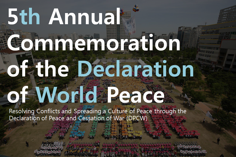 A STEP TOWARDS PEACE IPYG Peace Story IPYG Peace Story IPYG HWPL