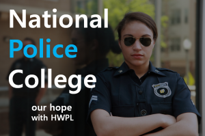 A STEP TOWARDS PEACE National Police College goes along with peace WARP Summit UN substantial PSCSC practical Peace education NPC National Police College Legislate Peace Campaign Law for Peace HWPL DPCW Alliance of Religions