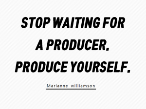 A STEP TOWARDS PEACE Writing practice : A writing producer #2 writing producer Writing practice Produce yourself Marianne williamson