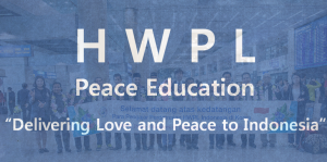 A STEP TOWARDS PEACE HWPL Spreading Love and Peace to Indonesia Universitas Islam Negeri Syarif Hidayatullah Jakarta Reunification Peace Academy MOU Peace Love Indonesia HWPL Peace Education Workshop HWPL Peace education HWPL Divided nation