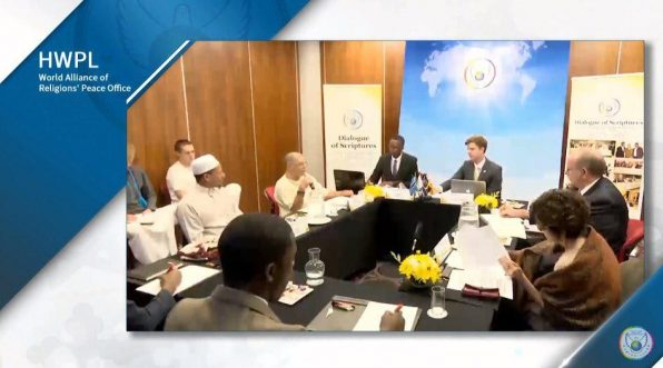 A STEP TOWARDS PEACE [D-1] HWPL Intercontinental WARP Office Meeting What Religious Texts Tell You WARPSummit2018 WARP OFFICE Religious Youth Peace Camp Peace Initiative peace festival Man Hee Lee HWPL Intercontinental WARP Office Meeting HWPL Intercontinental Online WARP Office HWPL DPCW Chairman Man Hee Lee Alliance of Religions Afterlife 918WARP