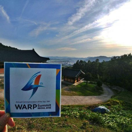 A STEP TOWARDS PEACE [D-3] 918 WARP Summit, the Peace Festival which 7.6 bn become One WE ARE ONE United Nations General Assembly United Nations UNGA SDGs peace festival Incheon Asiad Main Stadium HWPL International Law Peace Committee 918 WARP Summit 2030 Sustainable Development Goals