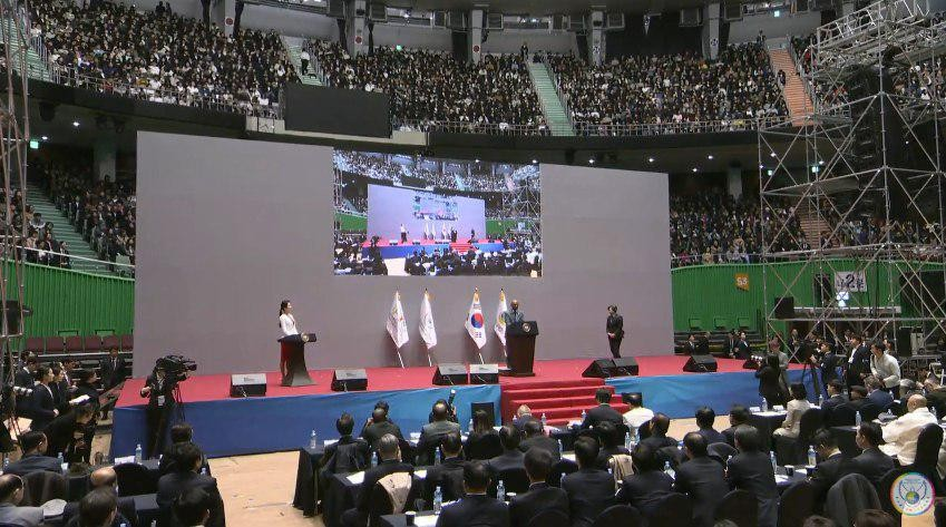 A STEP TOWARDS PEACE 3rd Annual Commemoration of the Declaration of Peace and Cessation of War (DPCW) What is HWPL United Nations unification Peace Letter to Moon Jae-in Peace Letter Peace PAP NoWar Mr. Pravin H. Parekh Moon Jae-in Korean_Peninsula IPYG peace letter campaign HWPL DPCW Centre BBS 3rd DPCW 314peaceletterday