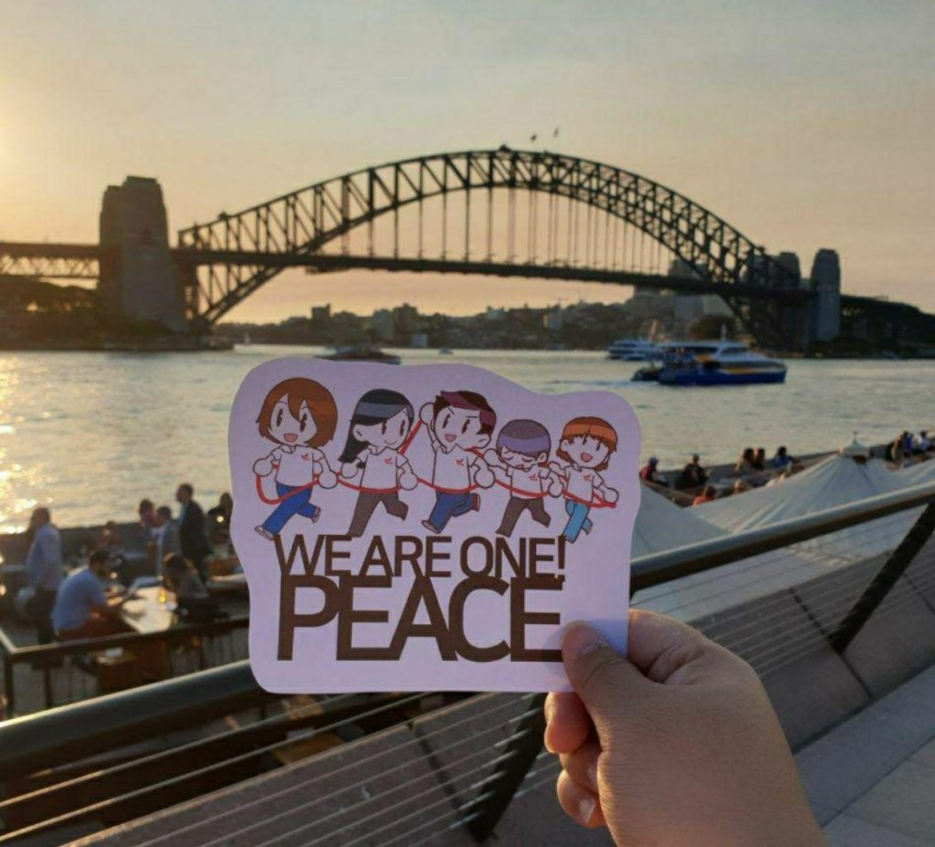 A STEP TOWARDS PEACE [D-2] 6th HWPL Peace Walk What is HWPL RE_Peaceletter Reply Peacewalk Manheelee Man Hee Lee Quotes IWPG IPYG HWPL DPCW