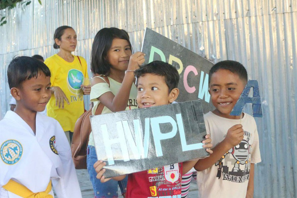 A STEP TOWARDS PEACE HWPL Peace Walk in Timor-Leste Timor-Leste Sangnoksu Unit Peace walk Oe-Cusse IWPG IPYG Independence hwpl warpsummit hwpl warp summit hwpl Together Peace hwpl peace walk hwpl peace organization hwpl peace legislation HWPL GMNtv Fretilin East Timor genocide East Timor DPCW Dili Amnesty International