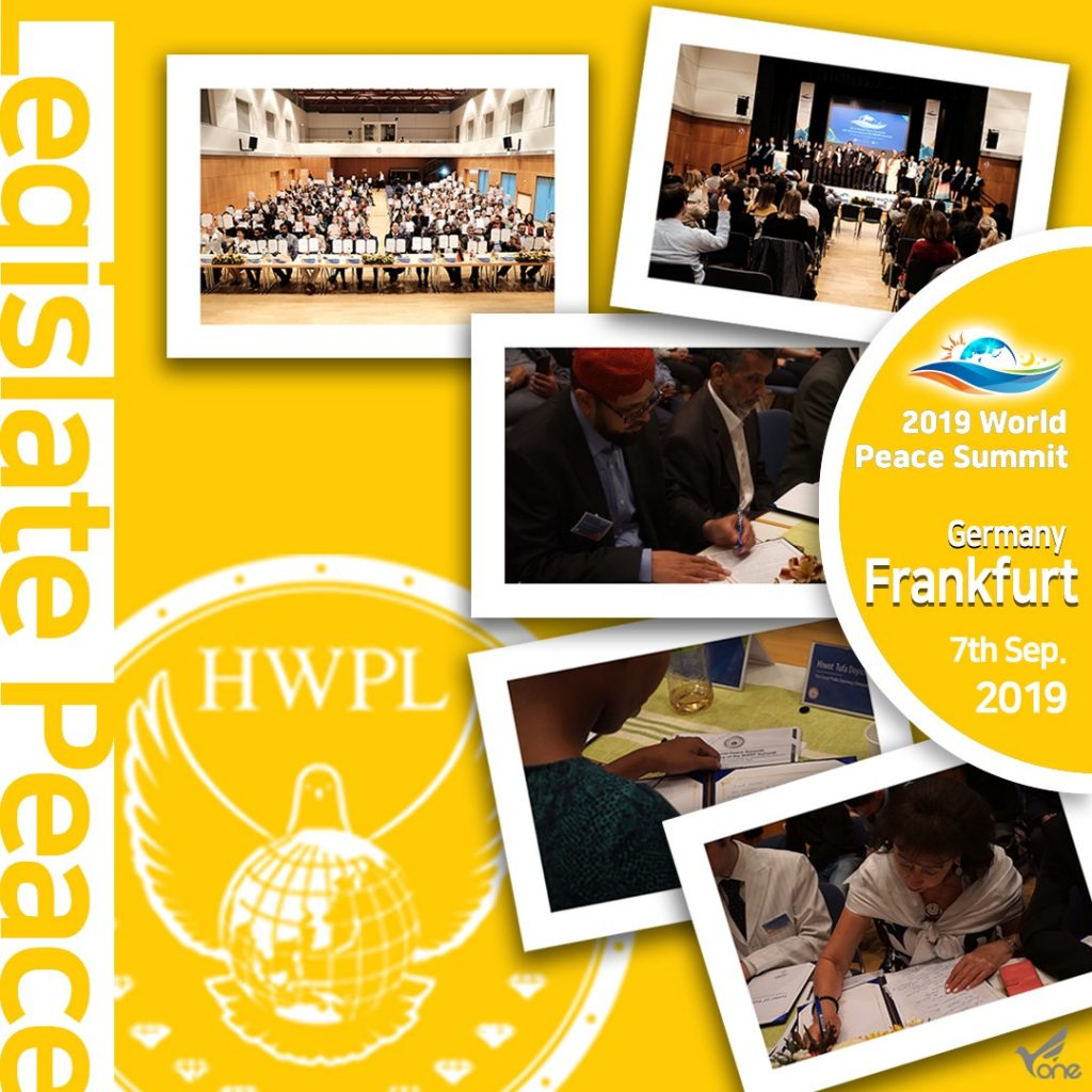 "A STEP TOWARDS PEACE [D-1] HWPL WARPsummit2019, ""Legislate Peace"" project WARPsummit2019 Together_Peace manheelee peace leader man hee lee quote Man Hee Lee Peace Biography man hee lee dpcw Man Hee Lee biography LPproject hwpl world peace summit hwpl peace legislation hwpl man hee lee hwpl mail HWPL DPCW 2019WorldPeaceSummit #LegislatePeace"