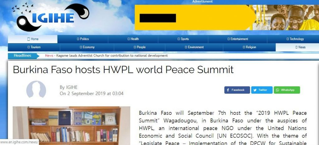 A STEP TOWARDS PEACE HWPL WARP Summit 2019 All Over the World Washington D.C. WARPsummit2019 Man Hee Lee Peace Biography man hee lee hwpl Man Hee Lee biography Legislate Peace hwpl warp summit HWPL Peace Letter hwpl peace legislation hwpl peace legislate hwpl mail hwpl LP campaign hwpl Legislate Peace CCLP 2019WorldPeaceSummit