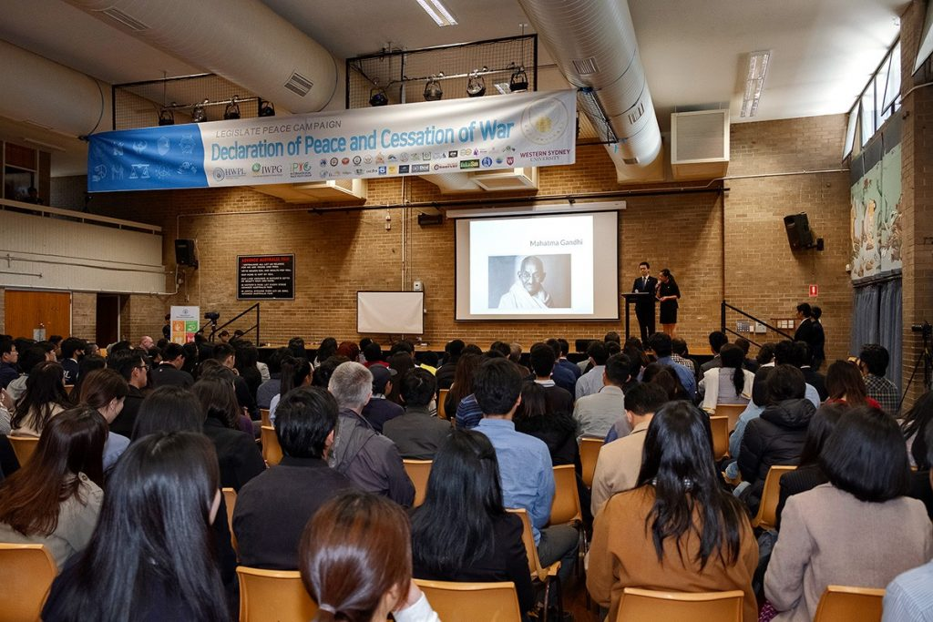 A STEP TOWARDS PEACE Australia is Full of Waves of Peace WARPsummit2019 Sydney Melbourne man hee lee hwpl LPproject Legislate Peace IPYG Australia HWPL Australia DPCW Brisbane Australia 918 WARP Summit 2019WorldPeaceSummit