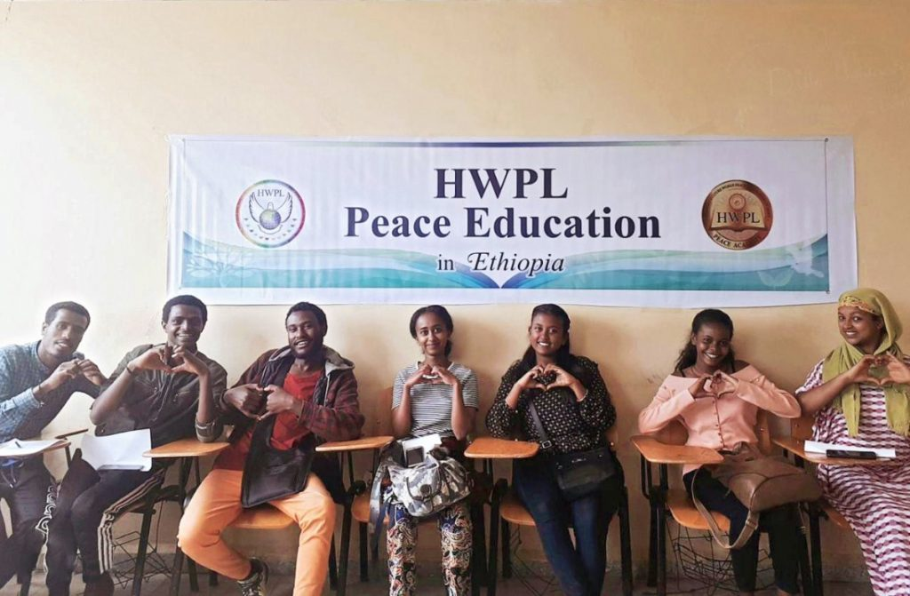 A STEP TOWARDS PEACE HWPL Peace Education in Ethiopia Peace education Man Hee Lee biography Kotebe Metropolitan University HWPL Peace education Ethiopian Prime Minister Ethiopia DPCW Addis Ababa Abiy Ahmed 2019 Nobel Peace Prize Winner