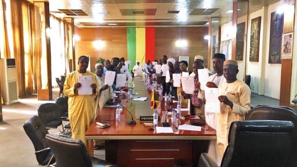 A STEP TOWARDS PEACE Mali Parliament seeks a Path to Peace United Nations Manheelee Man Hee Lee biography Malian President Mali Parliament Mali conflicts Mali attacks jihadist Ibrahim Boubacar Keita HWPL DPCW