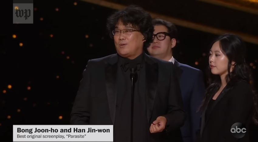 A STEP TOWARDS PEACE Oscars 2020: Parasite changes Everything l Bong Joon Ho Parasite movie Parasite Oscars 2020 NYtimes Martin Scorsese Kwak Sin-ae CNN Bong Joon-ho best director BBC