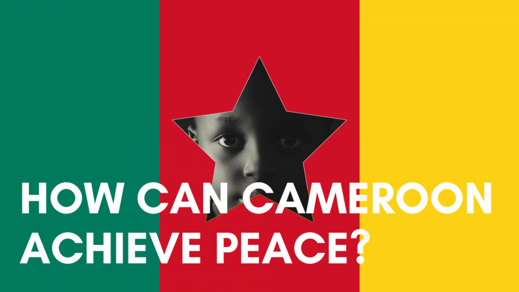 A STEP TOWARDS PEACE How can Cameroon achieve peace? Tibor Nagy Peace education Maurice Kamto Manheelee Legislate Peace Campaign IWPG IPYG hwpl report hwpl profile HWPL FAQ HWPL Cameroon